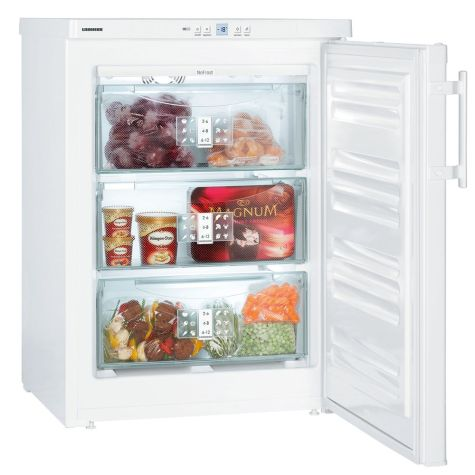 Liebherr GN 1066 Table Top Premium Freezer with NoFrost 91 litre A+ White