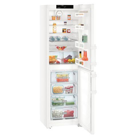 Liebherr CN3915 Fridge Freezer Freestanding NoFrost 340 litre White