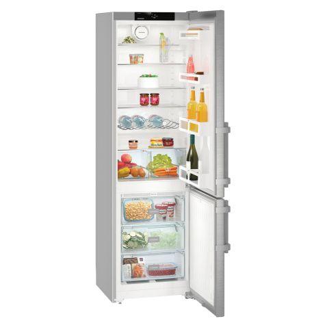 Liebherr CNef4015 Fridge Freezer Freestanding NoFrost 356 litre Silver