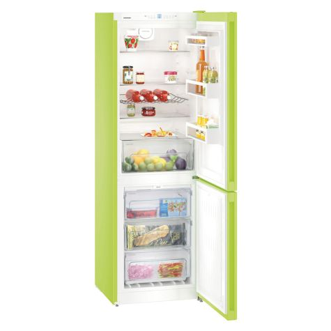 Liebherr CNKW4313 Fridge Freezer Freestanding 304 Litre Kiwi Green