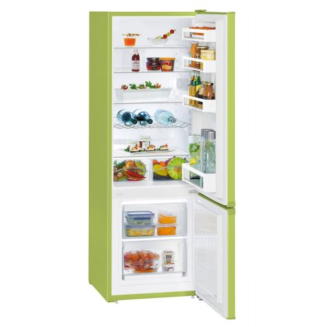 Liebherr CUkw2831 Fridge Freezer Freestanding 265 litre A++ KiwiGreen