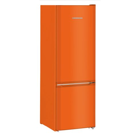 Liebherr CUno2831 Fridge Freezer Freestanding 265 litre A++ NeonOrange
