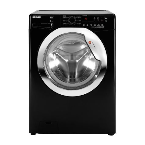 Hoover DXC58BC3 Washing Machine Black 8 Kg 1500rpm A+++ Energy Rating