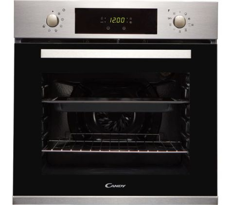 Candy FCPK606X Built In Electric Single Oven Stainless Steel A Energy Rating