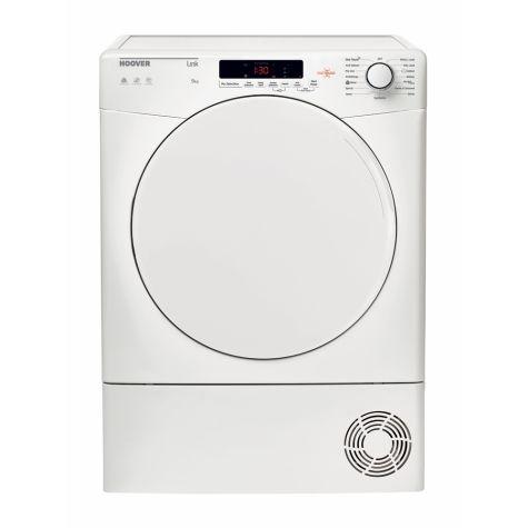 Hoover HLC9DF Tumble Dryer Freestanding Condenser 9kg B Energy White