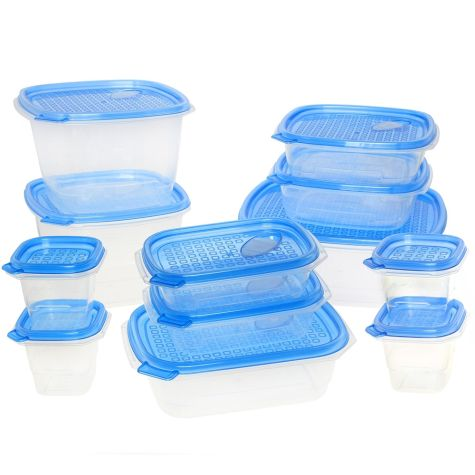 MyChoice Snap-On Lids Fresh Food Storage Container 12 Sets