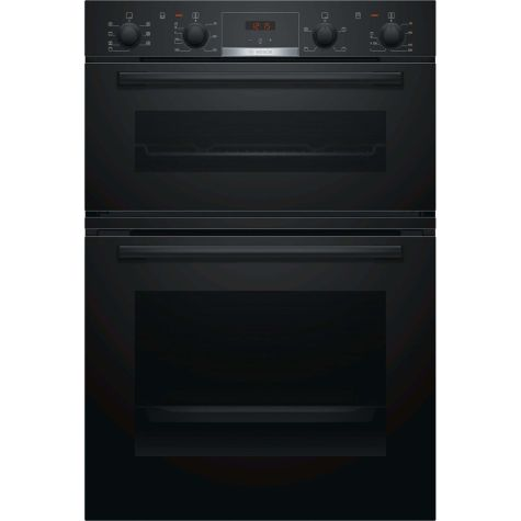 Bosch Serie 4 MBS533BB0B Built In Oven Electric Double Black