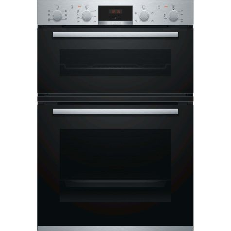 Bosch Serie 4 MBS533BS0B Built In Oven Electric Double Stainless Steel