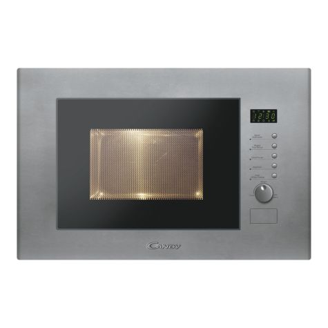 Candy MIC20GDFX Microwave with Grill Built-in 20 litre Stainless Steel