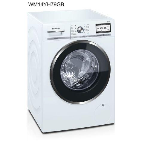 Siemens iQ700 WM14YH79GB Washing Machine Freestanding 9 kg A+++ White