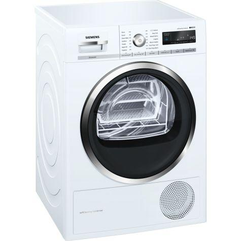 Siemens iQ500 WT47W591GB Tumble Dryer Condenser 8 kg A++ White