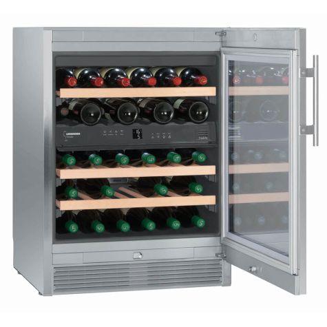 Liebherr WTes1672 Wine Cooler Vinidor 34 Bottles 38dB Stainless Steel