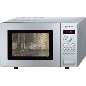 Bosch Series 2 HMT75G451B Brushed Steel Microwave with Grill 17 Litre