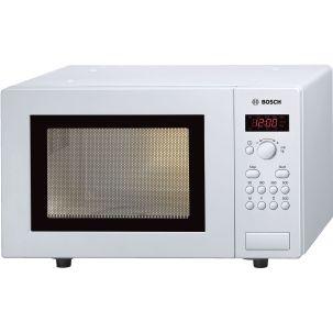 Bosch Series 2 HMT75M421B White Freestanding Microwave 800W 17 litre