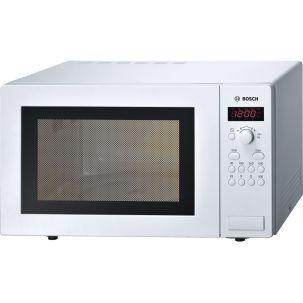 Bosch Series 2 HMT84M421B White Freestanding Microwave 900W 25 litre