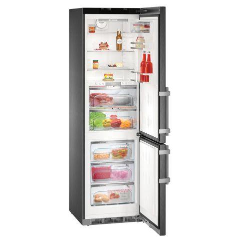 Liebherr CBNPbs4858 Fridge Freezer Freestanding 344 litre BlackSteel