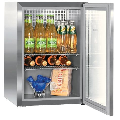 Liebherr CMes502 Fridge Table-Height 42 litre Capacity Stainless Steel