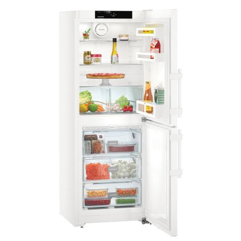 Liebherr CN3115 Fridge Freezer Freestanding NoFrost 260 litre White