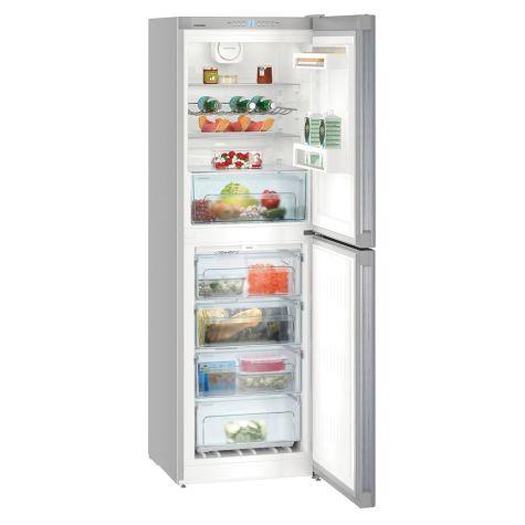 Liebherr CNEL4213 Fridge Freezer Freestanding NoFrost 294 Litre Silver