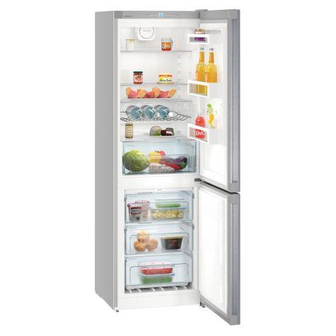 Liebherr CNEL4313 Fridge Freezer Freestanding 304 Litre Silver