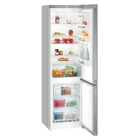 Liebherr CNEL4813 Fridge Freezer Freestanding NoFrost 338 Litre Silver