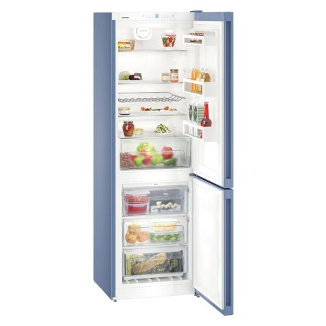 Liebherr CNFB4313 Fridge Freezer NoFrost Freestanding 304L Frozen Blue