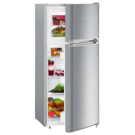 Liebherr CTel2131 Fridge Freezer Freestanding 196 litre A++ Silver