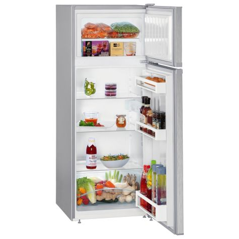 Liebherr CTEL2531 Fridge Freezer Freestanding A++ Energy Rating Silver