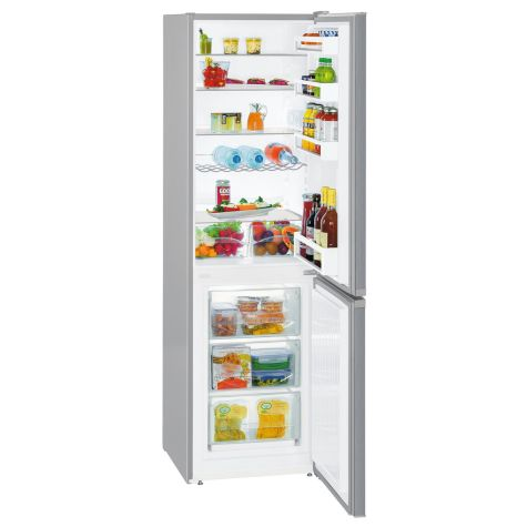 Liebherr CUel3331 Fridge Freezer Freestanding 296 litre A++ Silver