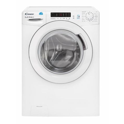 Candy CVS1482D3 Washing Machine Freestanding 1400rpm 8kg A+++ White