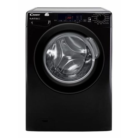 Candy CVS1482D3B Washing Machine Freestanding 1400rpm 8kg A+++ Black