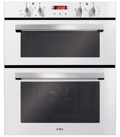 CDA DC740WH Built Under Oven Electric Double White