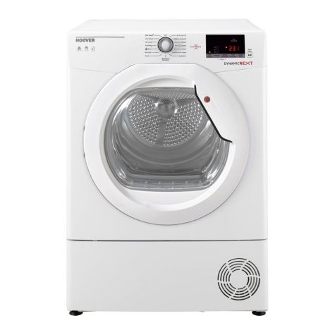 Hoover Dynamic Next DXC10DG Tumble Dryer Condenser 10kg B Energy White