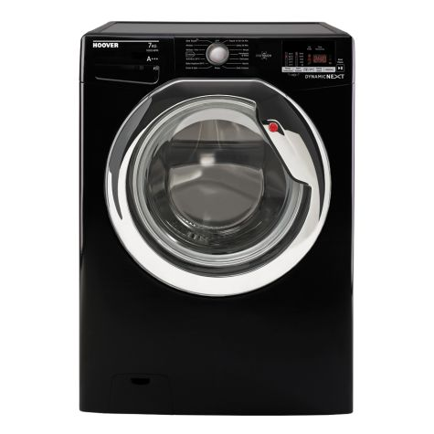Hoover DXOC67C3B Washing Machine Black 7 Kg 1600rpm A+++ Energy Rating