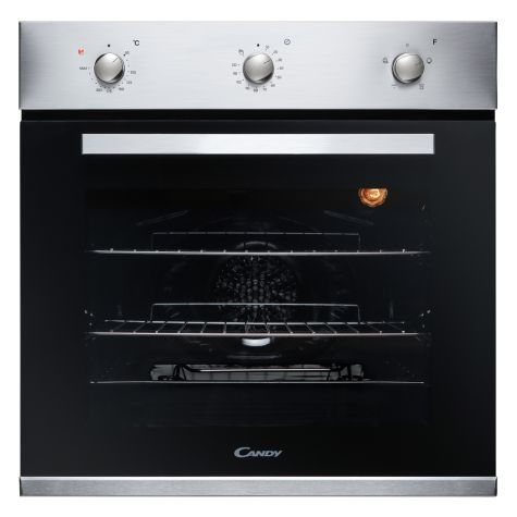 Candy FCP403X Oven Single Fan Stainless Steel A Energy Rating