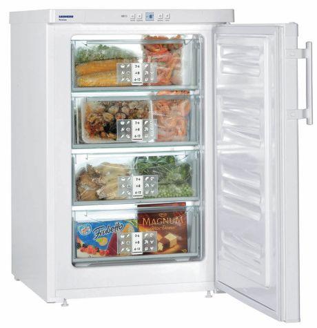Liebherr GP1376 Premium Freezer SmartFrost 104 litres Capacity 4 Draw