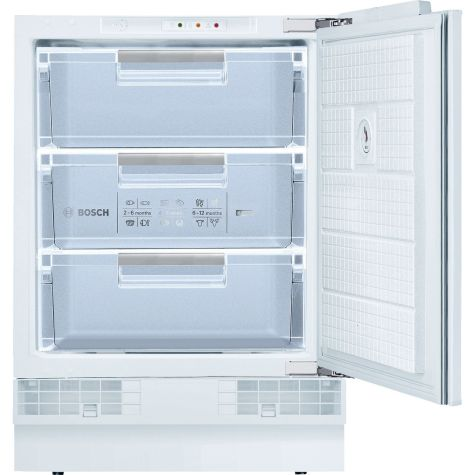 Bosch GUD15A50GB Fully Integrated Under Counter Freezer With Fixed Door Fixing Kit A+
