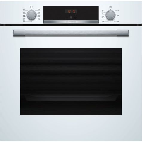 Bosch HBS534BW0B Built In Electric Single Oven - White - A Rated