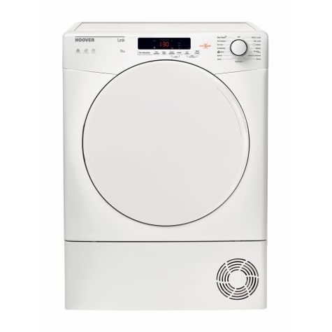 Hoover HLC9DF Tumble Dryer Freestanding Condenser 9kg B Energy White