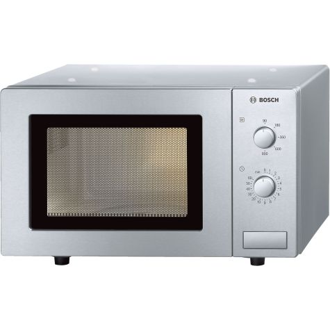 Bosch Series 2 HMT72M450B Brushed Steel Freestanding Microwave 800W