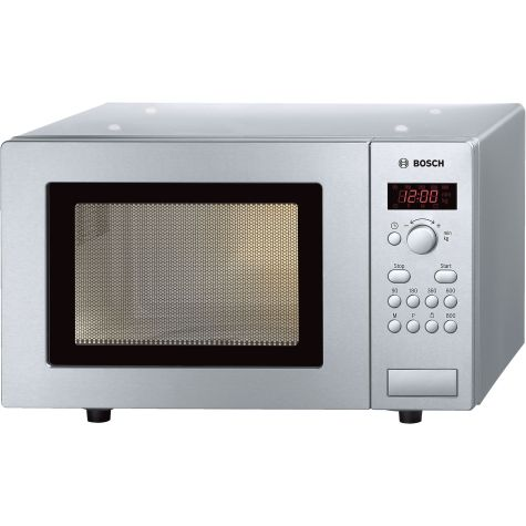 Bosch Series 2 HMT75M451B Brushed Steel Freestanding Microwave 800W