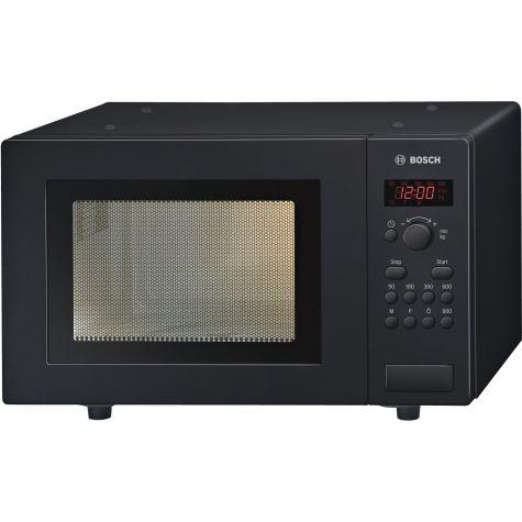 Bosch Series 2 HMT75M461B Black Freestanding Microwave 800W 17 litre