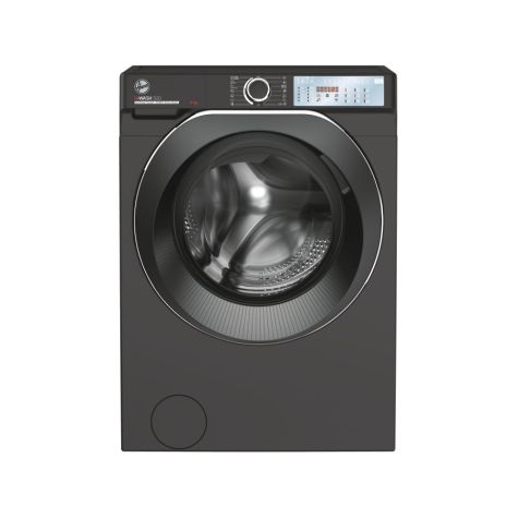 Hoover HWB69AMBCR Washing Machine Freestanding 1600rpm 9kg Anthracite+Black Door