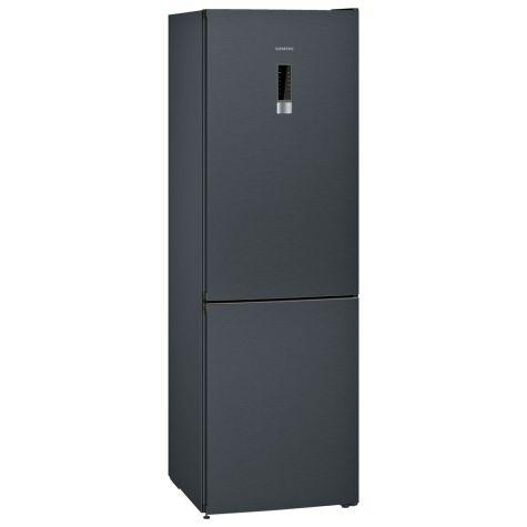 Siemens iQ300 KG36NXX3AG Fridge Freezer Freestanding 324 litre BlackSteel