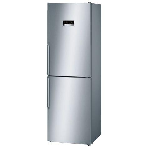 Bosch Serie 4 KGN34XL35G Fridge Freezer Freestanding 319 litre Inox
