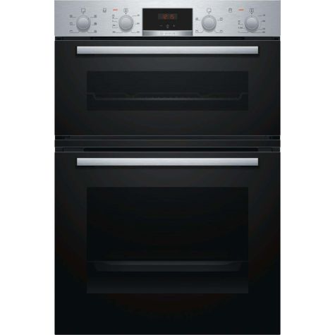 Bosch Serie 2 MBS133BR0B Built In Oven Electric Double Stainless Steel