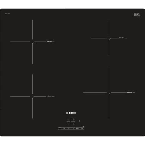 Bosch Series 4 PUE611BB1E Electric Hob Induction 4 Zone Touch Control