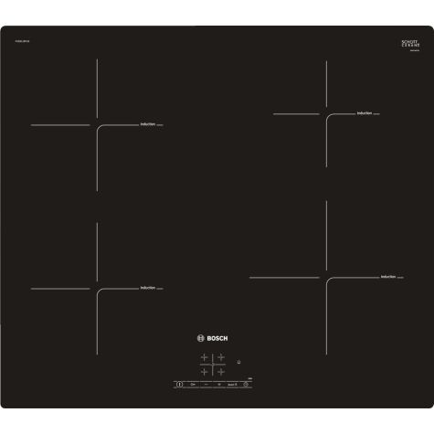 Bosch Serie 4 PUE611BF1B Electric Hob Induction 4 Zones Touch Control