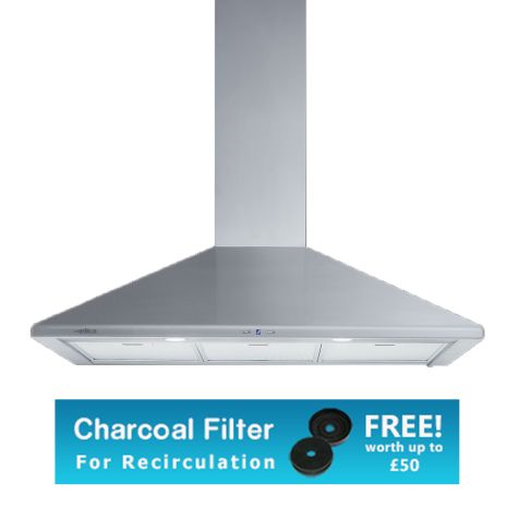 Elica TAMAYA 60 HP Cooker Hood Chimney Stainless Steel