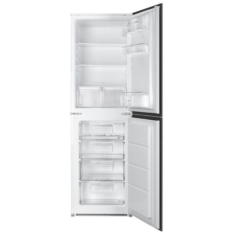 Smeg UKC3170P Fridge Freezer Integrated In Column A+ Energy